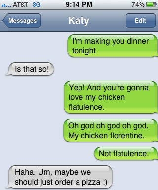 chicken flatulence